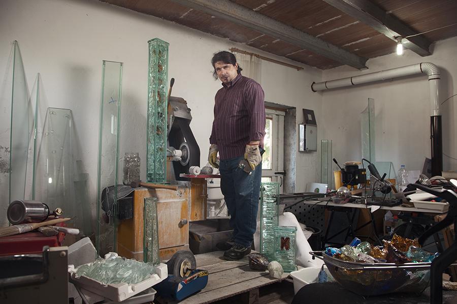 Alessandro Cadamuro, vetroscultore