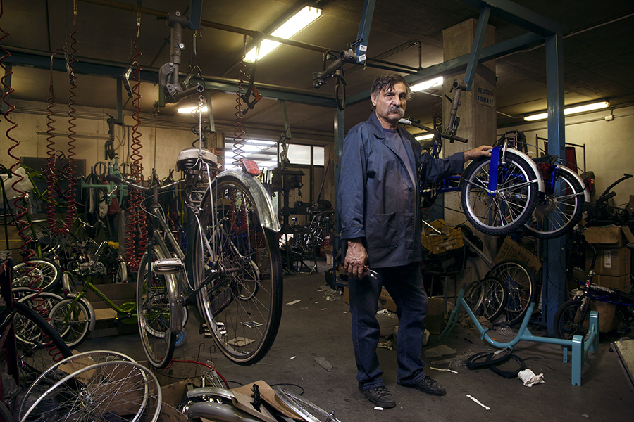 Isaia Zanella, costruttore cicli