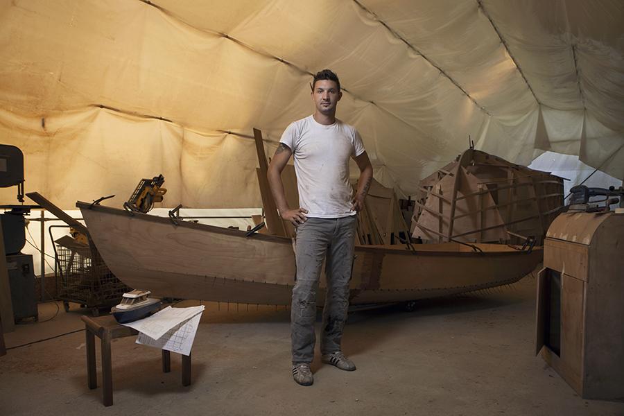 Juri Furlan, costruttore di barche