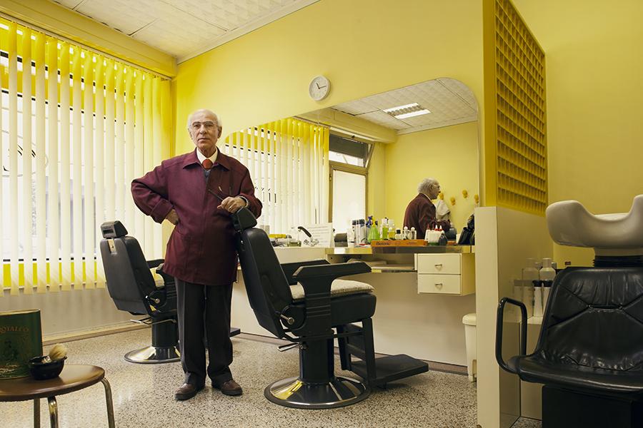 Luigi Baratta, barbiere