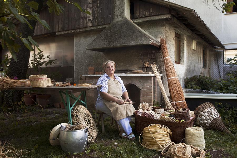 Patrizia Torresin, cestaia