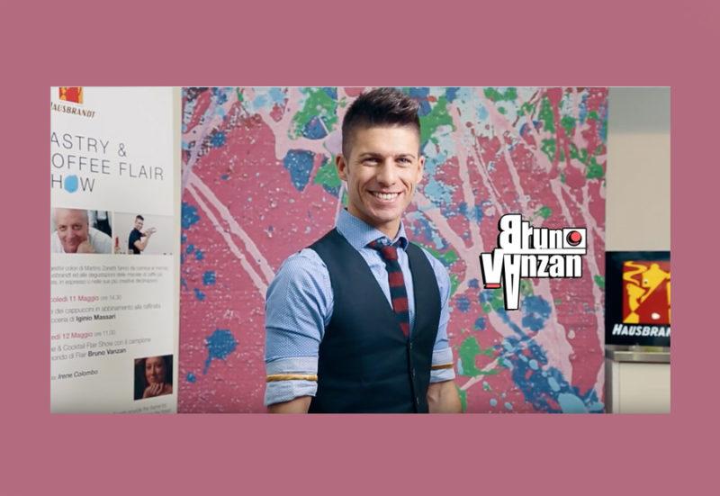 Bruno Vanzan foto e video hausbrandt caffè