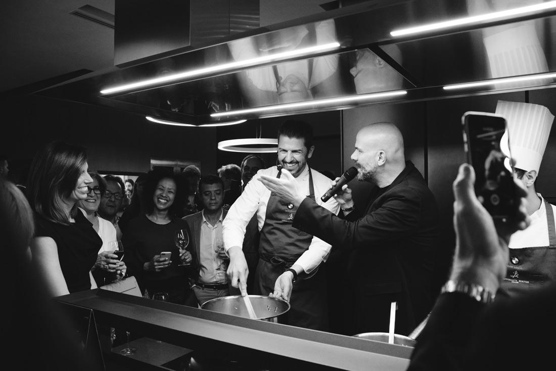berton chef foto video arrital cucine portrait michelin milano