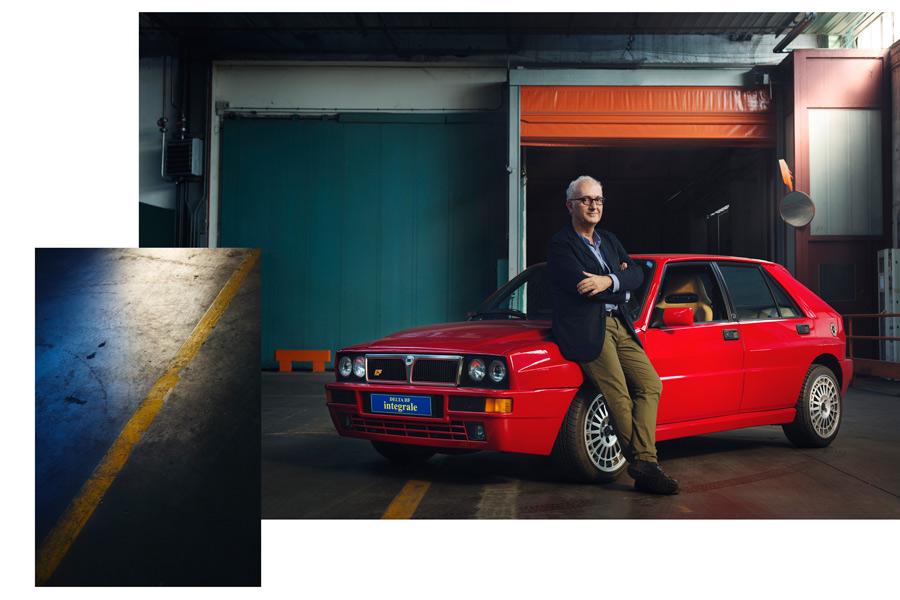 Lancia Delta Roberto Giolito foto FCA Heritage fiat 500 designer compasso d'oro Alessandro Venier