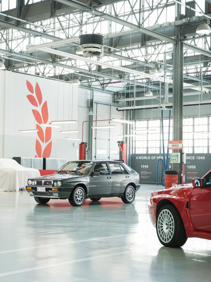 Lancia delta integrale FCA photo ©Venier